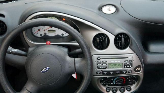 ford ka interior radio